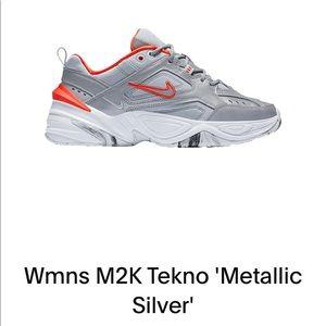 Nike M2K Tekno 'Metallic Sliver'